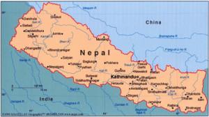 1 Nepal-karta